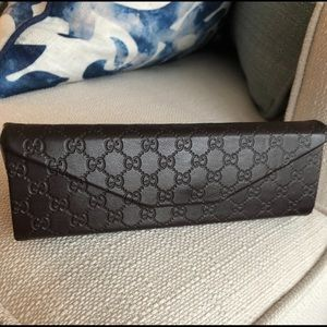 OR FREE with purchase!! Gucci Eye Glass Case